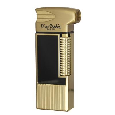 """MF-21B-01  Зажигалка """"Pierre Cardin"""" для трубок газовая пьезо, золото, 1,4х3,4х8 см"""