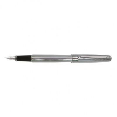 PC5030FP-02 Перьевая ручка Pierre Cardin LeGRAND, корпус и колпачок - латунь с гравировкой, перо - сталь с позолотой