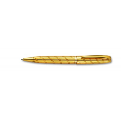 "PC1015BP-01 Шариковая ручка Pierre Cardin ""Wisdom"", золото - спираль"