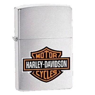200HD H252 Зажигалка Zippo широкая Harley Davidson