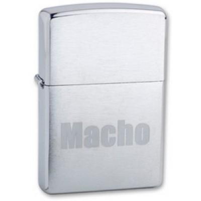200 Macho Зажигалка Zippo широкая