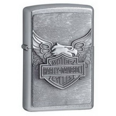 20230 Зажигалка Zippo широкая Harley Davidson