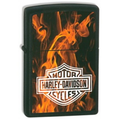 21040 Зажигалка Zippo широкая HD Of Fire