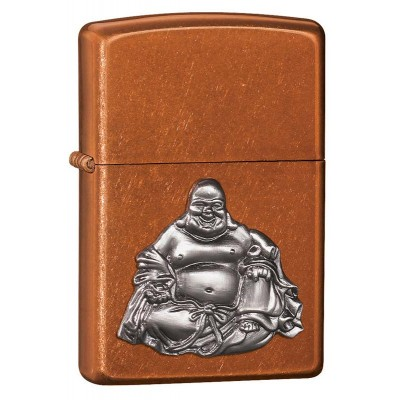 21195 Зажигалка Zippo широкая, Buddha