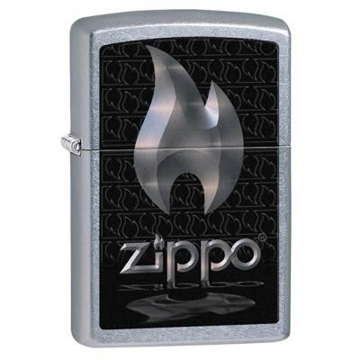 28445 Зажигалка Zippo широкая, Flame