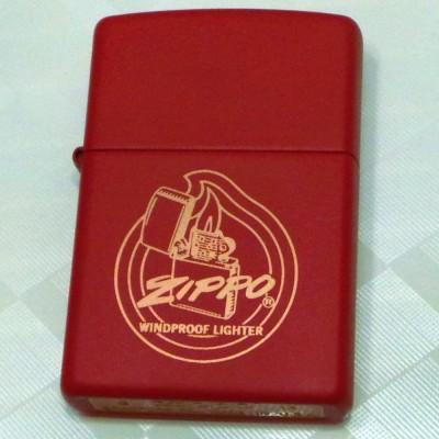 28720 Зажигалка Zippo широкая Flame
