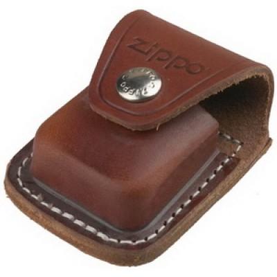 LPCB Чехол коричневый с клипом для зажигалки Zippo