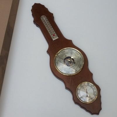 БМ71/Б Метеостанция (барометр, термометр, гигрометр), 515х140мм