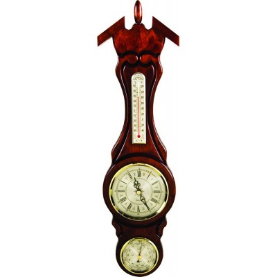 М58/Ч Метеостанция (часы, барометр, термометр), 530х135мм