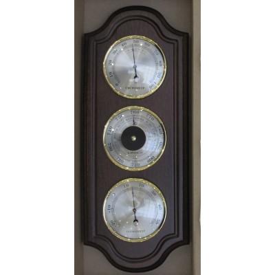 БМ47 Метеостанция (барометр, термометр, гигрометр), 360х145 мм