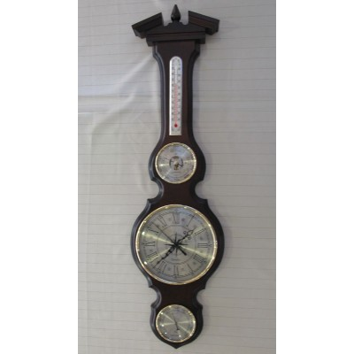 БМ97 Метеостанция Смич (часы, барометр, термометр, гигрометр), 800x210 мм