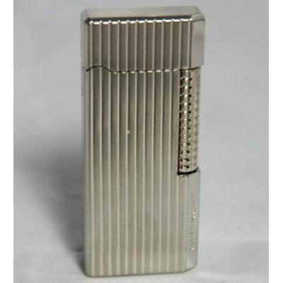"3012 Зажигалка ""Givenchy"" газовая кремниевая, Dia-silver, vertical dia-cut, 2,8x1,0x6,5 см"