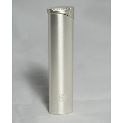 "3202 Зажигалка ""Givenchy"" газовая пьезо, Silver satin, 2,0x0,7x8,0 см"