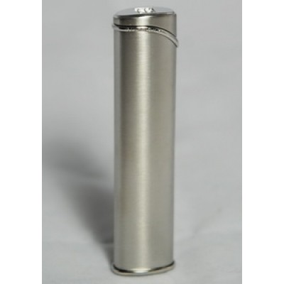 "3601 Зажигалка ""Givenchy"" газовая турбо, Silver satin, 1,0x2,0x8,4 см"