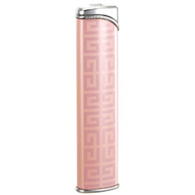 "3609 Зажигалка ""Givenchy"" газовая турбо, Dia-silver pink lacquer, 1,0x2,0x8,4 см"