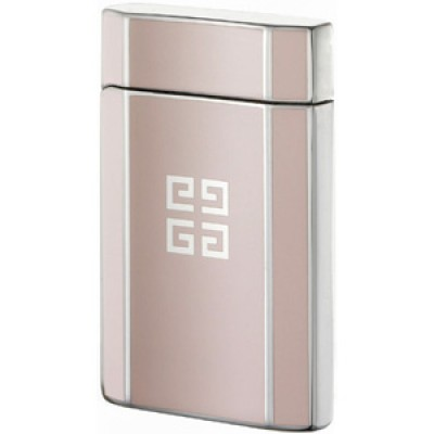 "4204 Зажигалка ""Givenchy"" газовая пьезо, Dia-silver print pink, 3,5x0,9x5,5 см"