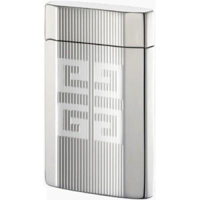 """4206 Зажигалка """"Givenchy"""" газовая пьезо, Dia-silver, 3,5x0,9x5,5 см"""