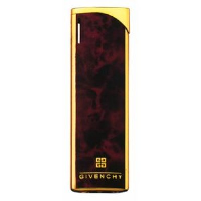 "5005 Зажигалка ""Givenchy"" газовая пьезо, Red-marble lacquer"