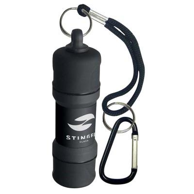 STL-382-CBL Зажигалка STINGER газовая CLAVA, чёрный, 28x98 мм