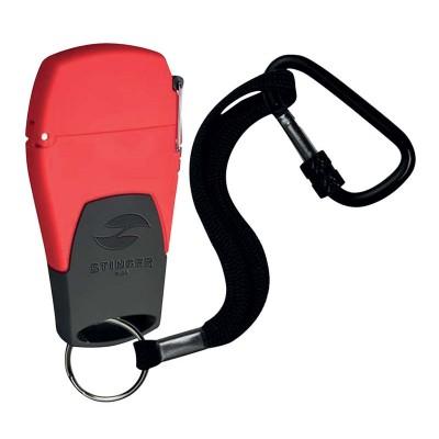 STL-441-MR Зажигалка STINGER газовая Mira, красный, 41x16x78 мм