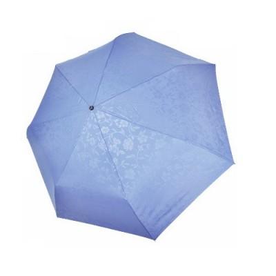 """Зонт """"Три Слона"""" женский №076-B-1, облегченный, 7 спиц, купол D=87 см голубой, 260 гр."""