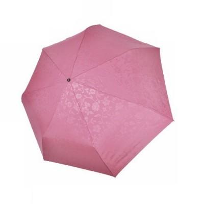 """Зонт """"Три Слона"""" женский №076-B-2, облегченный, 7 спиц, купол D=87 см розовый, 260 гр."""