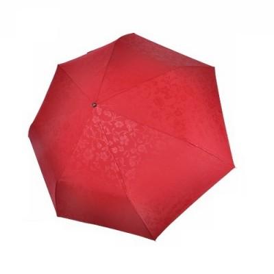 """Зонт """"Три Слона"""" женский №076-B-4, облегченный, 7 спиц, купол D=87 см, красный, 260 гр."""