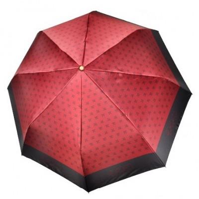 """Зонт """"Три Слона"""" женский №288-3, складной, купол D=103 см, суперавтомат, цвет бордовый"""