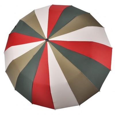 "Зонт ""Три Слона"" женский № L3160-1, купол 55 см (D=102 см), 16 спиц"