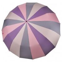"""Зонт складной """"Три Слона"""" женский № L3160-2, купол 55 см (D=102 см), 16 спиц"""