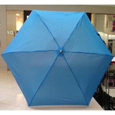 """Зонт """"Три Слона"""" женский №680-1 micro, карманный, голубой"""