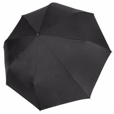 """Зонт """"Три Слона"""" мужской №790, купол 55 см, 8 спиц, черный, ручка прямая пластик"""