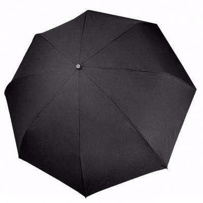 """Зонт """"Три Слона"""" мужской №905, радиус купола 58 см (D=104 см), 8 спиц, черный, ручка прямая пластик"""