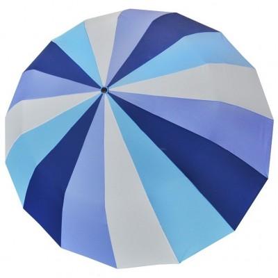 """Зонт складной """"Три Слона"""" женский № L3160-3, купол 55 см (D=102 см), 16 спиц"""
