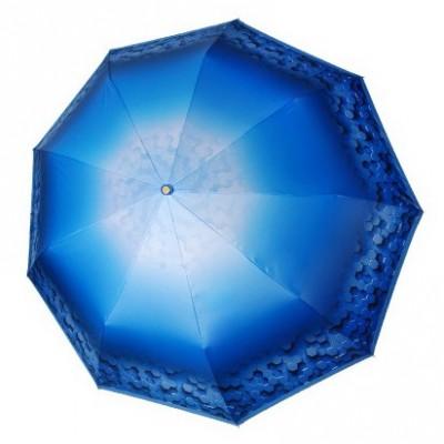 "Зонт ""Три Слона"" женский №L3991-1, купол R=58 см (D=103 см), 9 спиц"