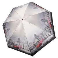 """Зонт """"Три Слона"""" женский №L4702-I-6 mini, Пизанская башня"""
