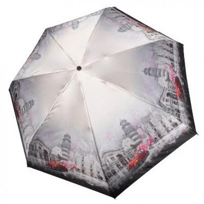 """Зонт """"Три Слона"""" женский №L4702-I-6 mini, Пизанская башня, 7 спиц, купол R=53 см"""